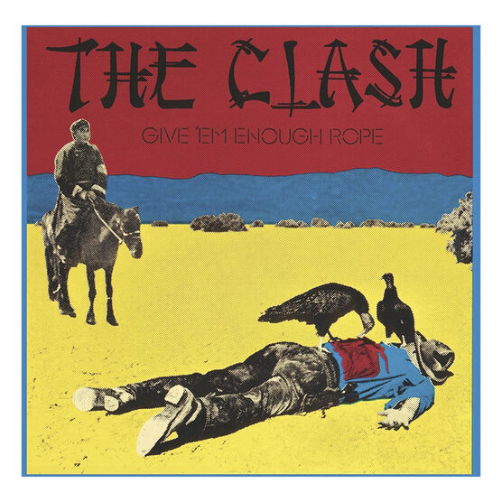 The Clash - Give 'Em Enough Rope (Remastered) - Vinyl