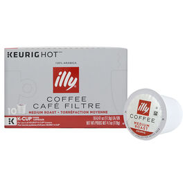 Illy K-Cup Coffee - Medium Roast - 10 Servings