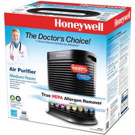 Honeywell True HEPA Air Purifier - Medium Room - Black - HPA100C