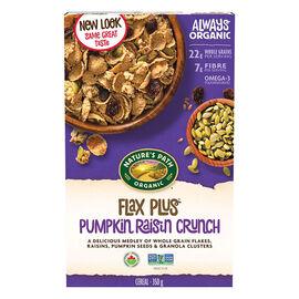 Nature's Path Organic Flax Plus Cereal - Pumpkin Raisin Crunch - 350g