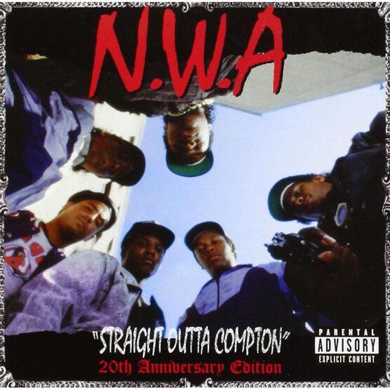 N.W.A. - Straight Outta Compton (20th Anniversary Edition) - Vinyl