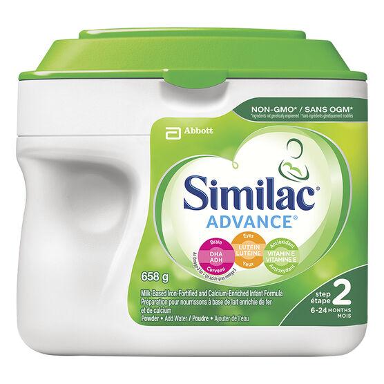 Similac Non-GMO Powder - Step 2 - 658g