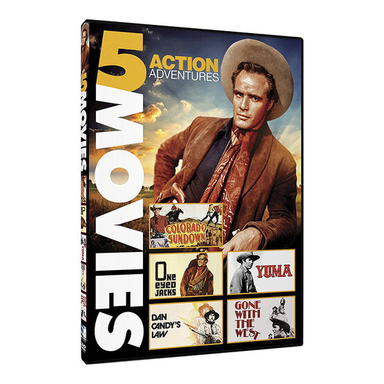 Action Adventures: 5 Western Movies - DVD