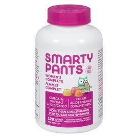 Smartypants Women's Complete Multivitamin Gummies - 120's