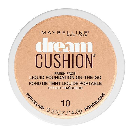 Maybelline Dream Cushion Fresh Face Liquid Foundation - Porcelain