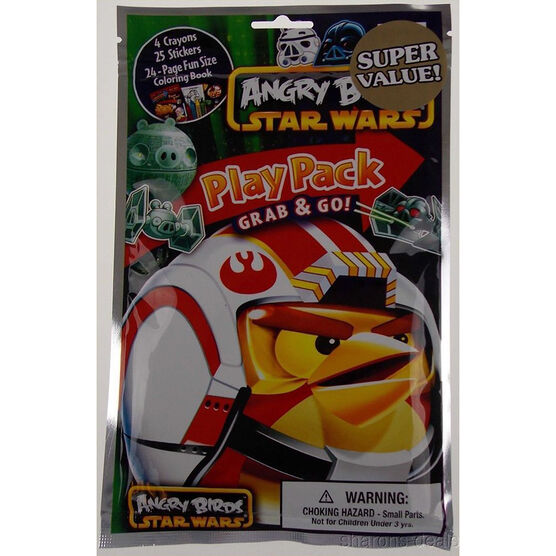 Licensed Play Pack and Go Activity Book - Assorted