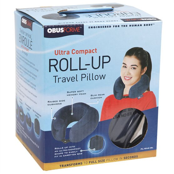 Obus Travel Pillow - PL-RNK-BL