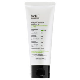 belif Mild and Effective Facial Scrub - 100ml