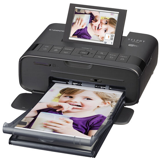 Canon Selphy CP1300 Compact Photo Printer - Black - 2234C001