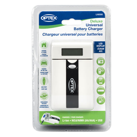 Optex Universal Battery Charger for Li-Ion - LI6000