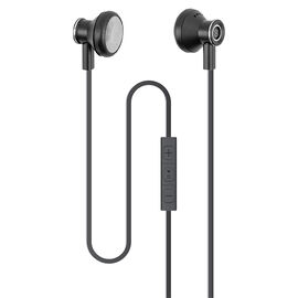 Logiix Classic Aluminum Earbuds - Black - LGX12710
