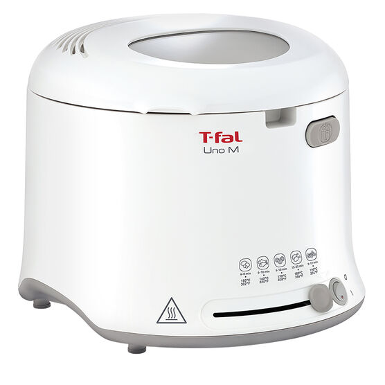T-fal UNO Compact Fryer - White - FF12315