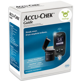 Roche Accu-Chek Guide Wireless Blood Glucose Meter & Lancing Device - 11169