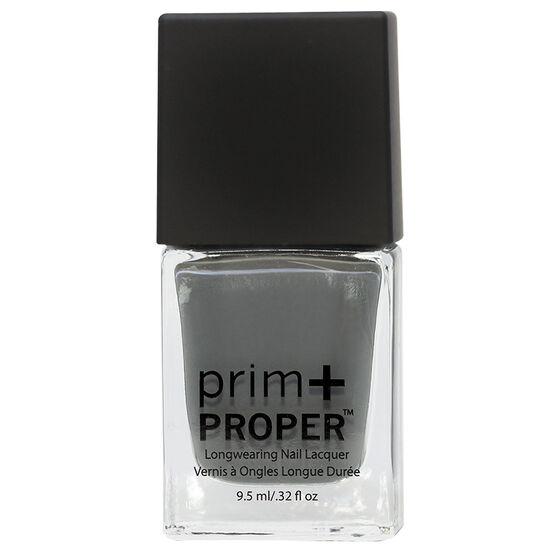 Prim + Proper Nail Lacquer - Grey Wolf