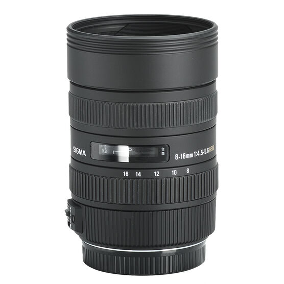 Sigma DC 8-16mm f4.5-5.6 HSM lens for Canon
