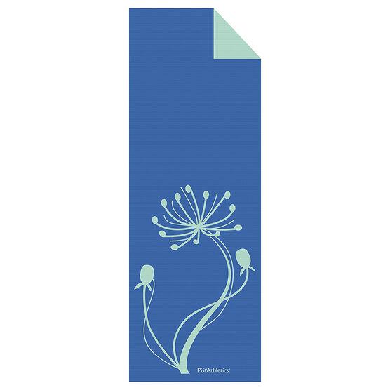 Purathletics Yoga Mat - Blue/Lime