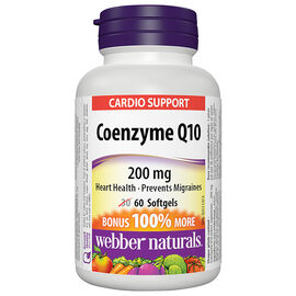Webber Naturals Coenzyme Q10 - 200mg - 60's