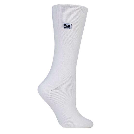 Heat Holders Ladies Lite Crew Sock - White