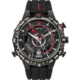 Timex IQ Tide Temp Pass Compass Watch - Black - T2N720ZA