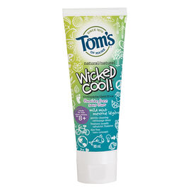 Tom's of Maine Natural Wicked Cool Toothpaste - Fluoride Free - Mild Mint - 90 ml