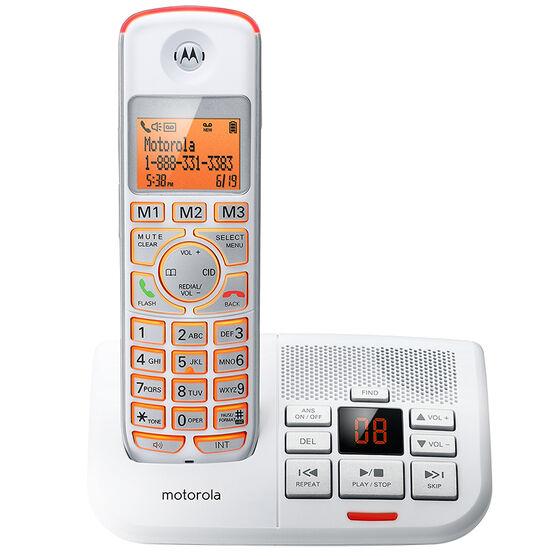 Motorola 1 Handset Cordless Phone - White - K701