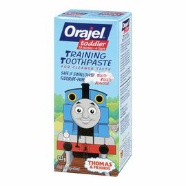 Orajel Toddler Training Toothpaste - Thomas & Friends - Tooty Fruity - 42.5g