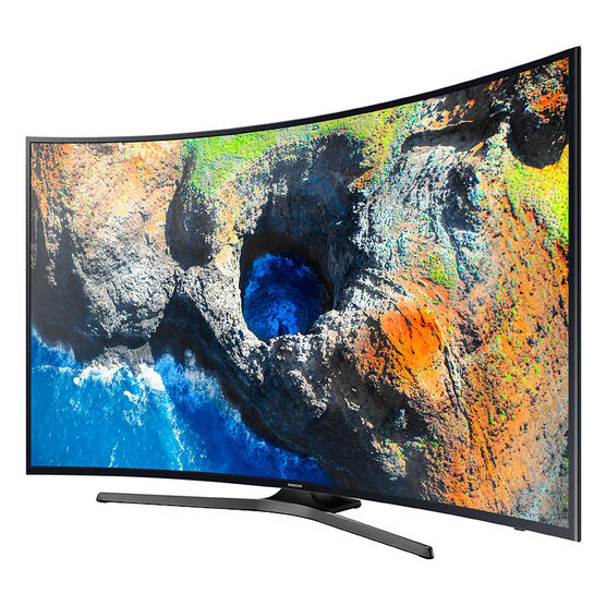 Samsung 55-in 4K UHD Curved TV - UN55MU6500FXZC