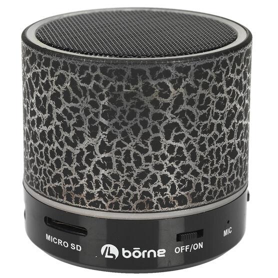 Borne Bluetooth Speaker - Black/Red - BTSPK21