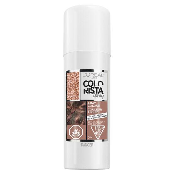 L'Oreal Colorista Spray 1-Day Colour - Rose Gold