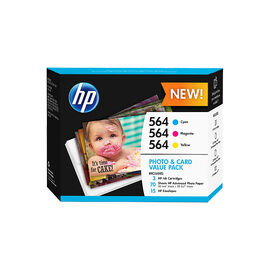 HP 564 Photo and Card Value Pack - J2X80AN#140