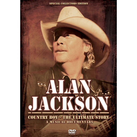 Alan Jackson - Country Boy: The Ultimate Story - DVD