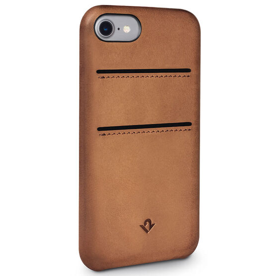 Twelve South RelaxedLeather with Pockets  for iPhone 7 - Cognac - TS121644