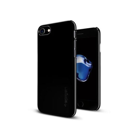 Spigen Thin Fit Case for iPhone 7 - Jet Black - SGP042CS20845