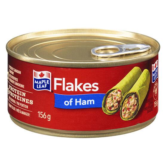 Maple Leaf Flakes of Ham - 156g