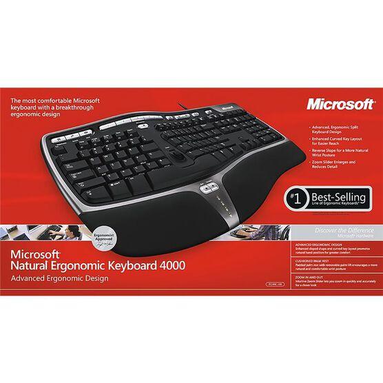 Microsoft Natural Ergonomic 4000 Keyboard