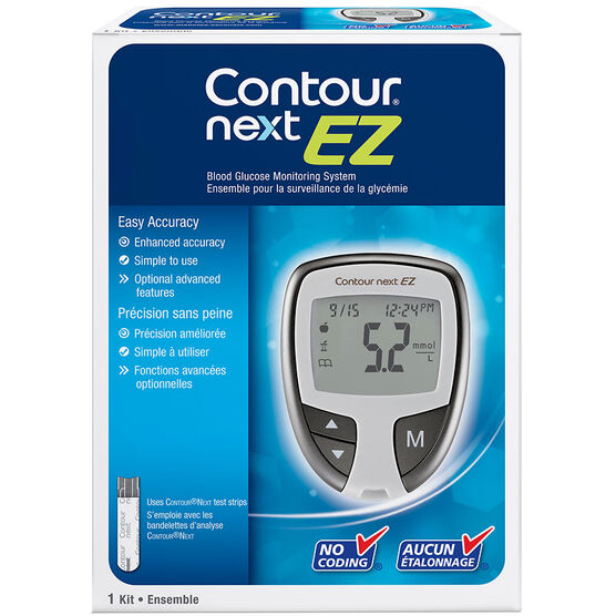 Bayer Contour Next EZ Blood Glucose Monitor