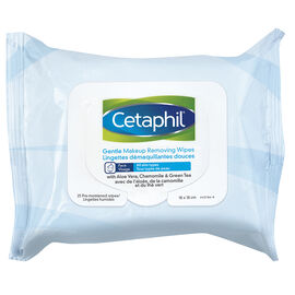 Cetaphil Gentle Makeup Removing Wipes - All Skin Types - 25's