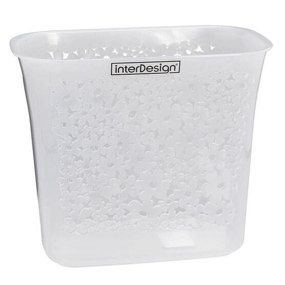 InterDesign Blumz Wastebasket - Clear