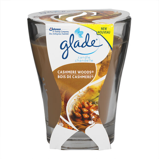 Glade Jar Candle - Cashmere