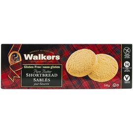 Walkers Gluten Free Shortbread - 140g