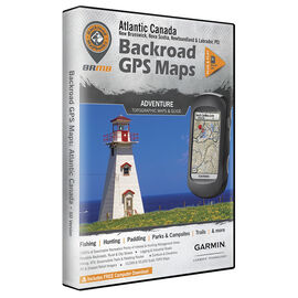 Backroad GPS Maps - Atlantic Canada - 02300