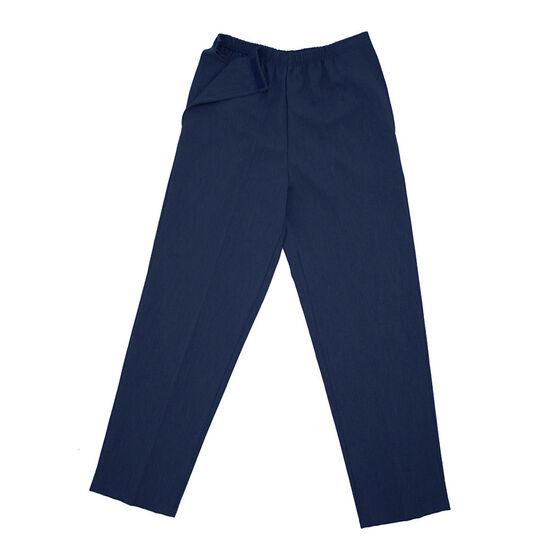 Silvert's Women's Open-Side Linen Look Pants - Small - XL