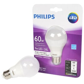 Philips Performance A19 LED - 9.5W - 1PK