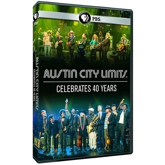 Austin City Limis Celebrates 40 Years - DVD