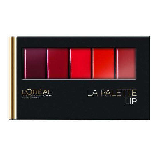 L'Oreal Colour Riche La Palette Lip - Red