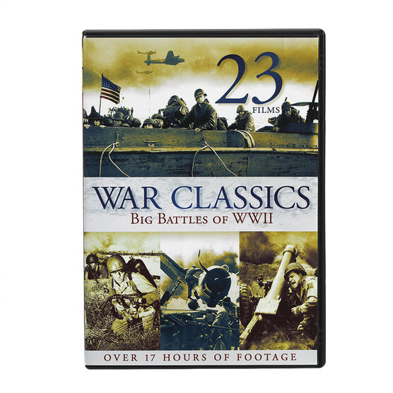 War Classics Collection: Big Battles of WWII - DVD