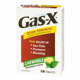 Gas-X Extra Strength Antigas Tablets - 18's
