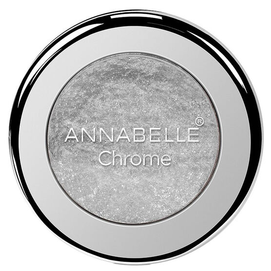 Annabelle Chrome Single Eyeshadow - Silver
