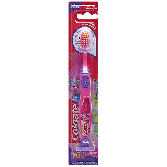 Colgate Tooth Brush Trolls Assorted - Extra Soft