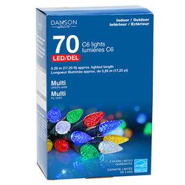 Danson LED Lights - 70 lights - Multicolour - X77260